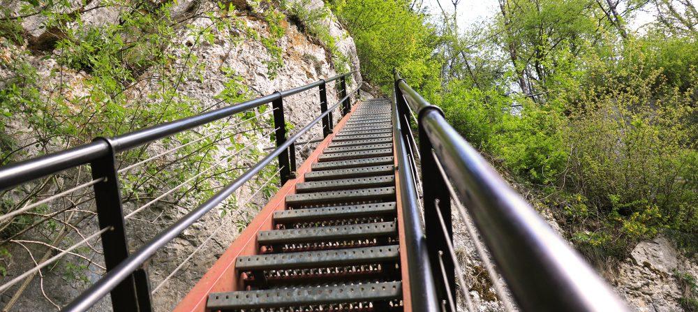 échelles de la mort escaliers grimper pays horloger
