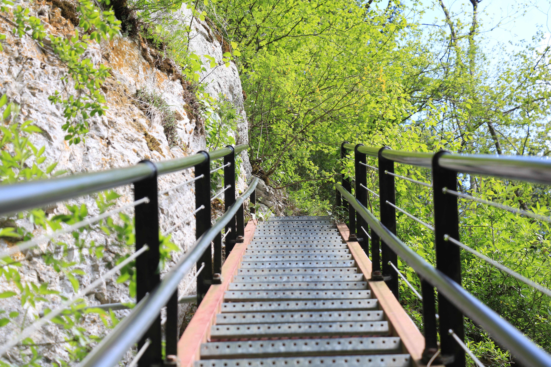 Echelles de la mort, escaliers, vallée de la mort, pays horloger, Fournet Blancheroche