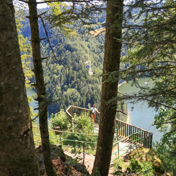 belvédère Saut du Doubs vallée du Doubs, bassins Pays Horloger