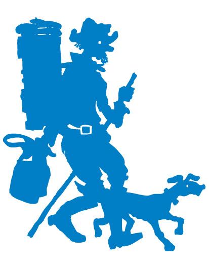 chemins de la contrebande franco suisse logo colporteur