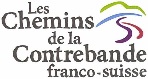 chemins de la contrebande franco suisse logo