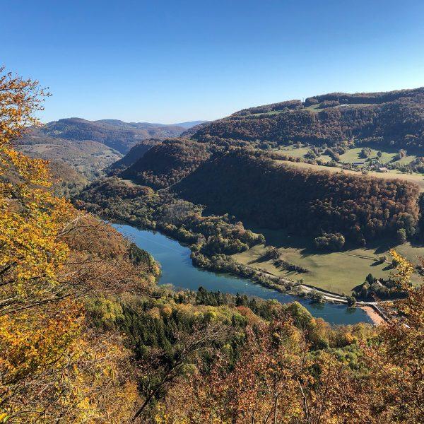 doubs vallée plateau point de vue rivière pays horloger doubs jura