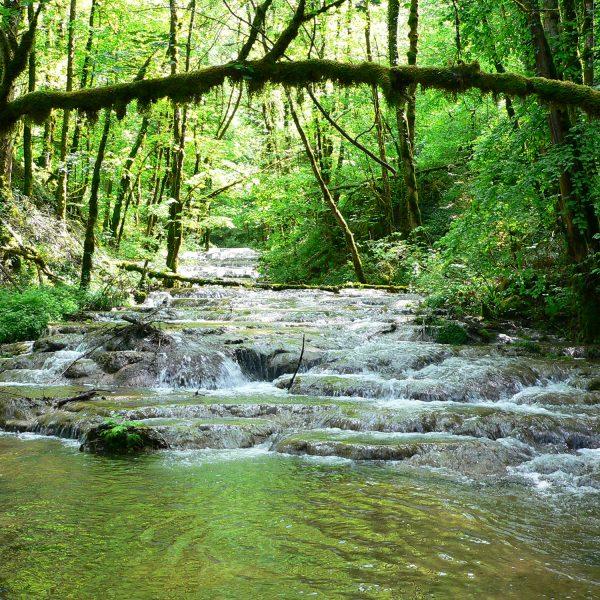 Waroly rivière dessoubre randonnée pays horloger doubs jura