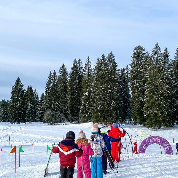 gardot ski de fond neige enfant espace ludique pays horloger doubs jura