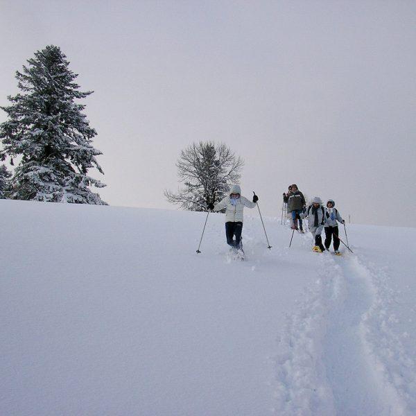 balades raquettes hiver neige pays horloger haut doubs jura