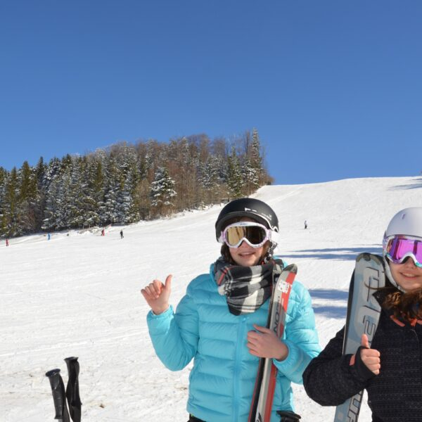 ski alpin descente la goule maiche pays horloger haut doubs jura