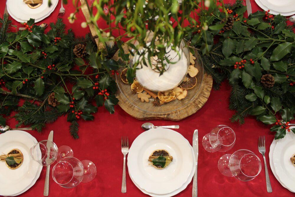 La table de Noël 100% pays horloger repas fête famille haut doubs jura
