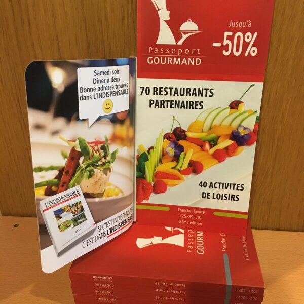 passeport gourmand restaurants idée cadeaux pays horloger