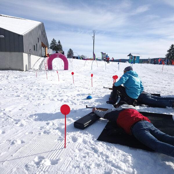 biathlon hiver neige activité nordique pays horloger haut doubs jura