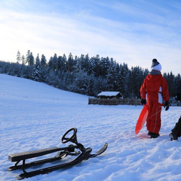 activités nordiques vacances d'hiverl uge pays horloger haut doubs jura