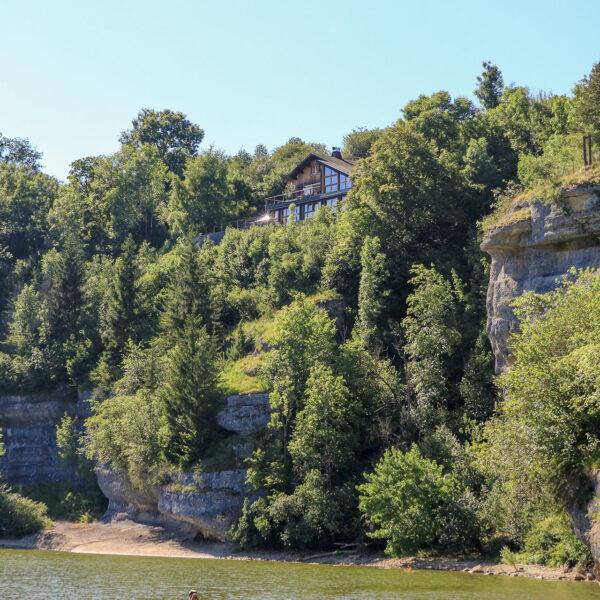 paddle canoe doubs bassins villers le lac pays horloger jura